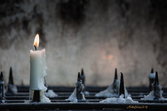 As long as a candle burns there is some hope in the world (MichaelSanderDU) Tags: church germany deutschland christ religion churches kirche nordrheinwestfalen glaube kevelaer christentum andacht michaelsander michaelsanderdu