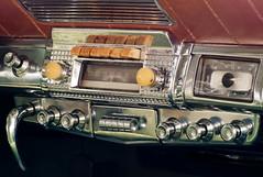 1951 Kaiser Art Deco Dash (KRFoto) Tags: automobile michigan kaiser 1951 irishhills walkertavern walkeronwheels classiccarshowtour