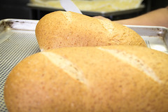 "big fresh loaf of bred for lunch • <a style=""font-size:0.8em;"" href=""https://www.flickr.com/photos/84562743@N04/7743486160/"" target=""_blank"">View on Flickr</a>"