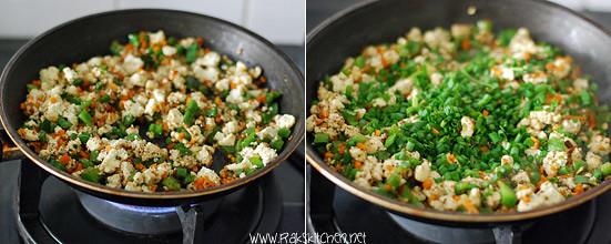 How to make paneer fried rice 4