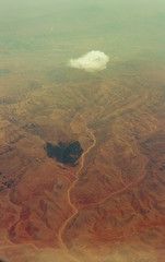 Clouds, from above the clouds, July, 2012 (bavan.prashant) Tags: 50mm kodak 100 nikkon ektar fe2