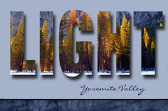Day 38 ~ Fun with Type      Granite and Light ~ Yosemite Valley (champbass2) Tags: california day text yosemite day38 yosemitevalley funwithtype champbass2 boldtext kimklassen lightacrossthemeadow beyondlayersii workingwithtext graniteandlight autumncolorinyosemite