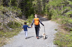Grassi Lakes Trail hike Canmore, Alberta