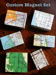 Custom Map Magnets (KaLaLu KaLaLu) Tags: chicago kalalu