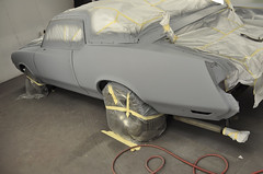 "1970 Cutlass SX Coupe Restoration in primer • <a style=""font-size:0.8em;"" href=""http://www.flickr.com/photos/85572005@N00/8151122730/"" target=""_blank"">View on Flickr</a>"