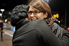 (sarer_ep) Tags: girls outside hug friendship streetlights mona caro dslr nikond3100