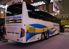 Callinan Coaches DAF MX375 Van Hool Altano TDX21 (chrisbell50000) Tags: show new favorite back coach birmingham rear exhibition end van favourite coaches nec vanhool daf hool callinan altano eurobusexpo2012 tdx21 mx375 chrisbellphotocom