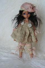 AntiK FabriKs by Heliantas: OOAK dress for 6luciole (heliantas) Tags: by doll dress ooak nelly elf tillie bjd kaye lillie antik wiggs fabriks heliantas