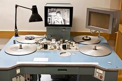 STEENBECK 8 (Nigel Bewley) Tags: uk november england film 35mm surrey 1967 16mm flatbed steenbeck editingsuite filmediting farnhamfestival unlimitedphotos november2012