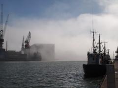 Into the cloud (wavebeat factory) Tags: sea cloud mist fog pen suomi finland boat helsinki olympus omzuiko omzuiko28mm epl2