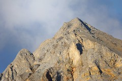 Ground Down Mountain (thefisch1) Tags: wood cliff mountain statue alaska nikon rocks calendar rocky peak craig remote caribou steep d300
