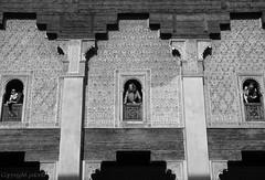 Ben Yousef (pdorta) Tags: bw monocromo morocco marrakech medina marruecos medersa benyousef