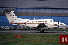 240 (GH@BHD) Tags: aircraft aviation military beech turboprop 240 iac kingair superkingair belfastcityairport irishaircorps beech200 bizprop irish240
