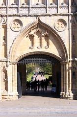 Portcullis (innpictime  ) Tags: park abbey silhouette stone gardens arch masonry monastery gateway visitors benedictine portcullis pathway gatehouse abbeygardens abbeygate 522448640715886