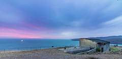 Godley Sunrise (Squid Rings (John Burland)) Tags: world ocean sea sunrise war heads ww2 defence godley