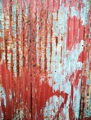 Rusted Tin Wall (WhiPix) Tags: metal wall tin newjersey rust corrugated trenton 7570