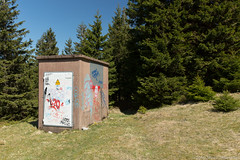When human kind gets in touch with nature (martinwozenilek) Tags: wood nature forest canon landscape energy technology kind human brocken electronic harz 5dmarkiii