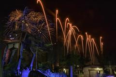 Symphony in the Stars (DsnyCpl) Tags: starwars fireworks waltdisneyworld ndfilter disneyafterdark disneyhollywoodstudios tamron18270mm fireworksfriday canon70d starwarssymphonyinthestars