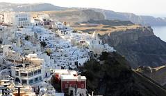 View of Thira (RV Bob) Tags: sky building view gimp santorini greece caldera thira thera