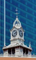 SINGAPORE LAU PA SAT CLOCK (patrick555666751) Tags: clock singapore asia south du east pa asie horloge sat sud est lau singapura