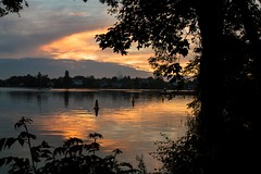 Oulton Broad Sunset (Jamo_115) Tags: d3200 nikon sigma 1750mm sunset water scenery landscape 24mm trees nature evening river clouds oulton broad suffolk lowestoft