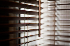 Day Eighty Six / Year Five. (evilibby) Tags: windows kitchen night dark evening blinds project365