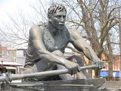 Spirit of St. Catharines (cohodas208c) Tags: sculpture statue rowing publicart stcatharines portdalhousie renniepark perrywakulich