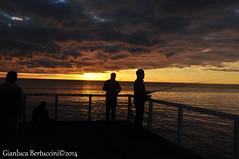 DSC_0415 (bertu89) Tags: ocean sunset landscape nikon tramonto australia adelaide southaustralia paesaggio oceano 18105 pescatori d5000 bertu89
