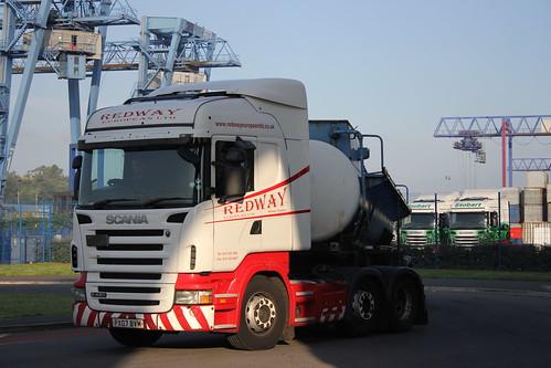WID PX07 BVM SCANIA R420 REDWAY EUROPEAN LTD