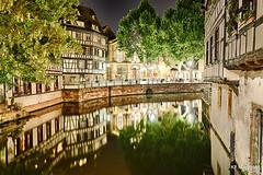 2016_05_25_KF16321_HDR (khaled.farah) Tags: france architecture canon eos canal cityscape strasbourg petitefrance hdr fleuve kfarah nightsape khaledfarah