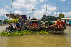 Floating Markets (G. Morgenweck) Tags: life river landscape lifestyle vietnam vehicle environment marsh mekongdelta locations 2016