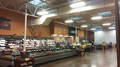 meat & fish from afar (Retail Retell) Tags: starkville ms kroger expansion remodel 2012 décor millennium neonbuild grocery store mississippi state university oktibbeha county retail
