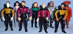 Playmates - Star Trek Next Gen (Darth Ray) Tags: trek star la jean william next doctor captain data beverly luc worf forge deanna generation geordi jeanluc picard commander playmates crusher the lieutenant guinan counselor troi riker