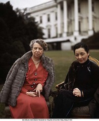 BE048049 (ngao5) Tags: two portrait people usa house female outdoors washingtondc clothing women sitting adult coat president whitehouse lawn furcoat elderly american wife northamerica prominentpersons government leader mansion nationalist twopeople halflength firstlady dwelling midatlantic northamerican senioradult eleanorroosevelt outerwear headofstate officialresidence governmentofficial politicalleader presidentspark caucasianethnicity madamechiangkaishek warmclothing chineseethnicity taiwaneseethnicity eastasianethnicity asianandindianethnicities