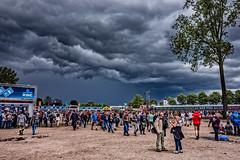 Dreigend weer op Rock Werchter (3FM) Tags: rain weather clouds concert belgie live wolken brussel werchter weer 2016 rockwerchter regenbui 3fm fotobenhoudijk