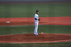 DSC09787 (shi.k) Tags: 横浜ベイスターズ 120320 イースタンリーグ 王溢正 横須賀スタジアム