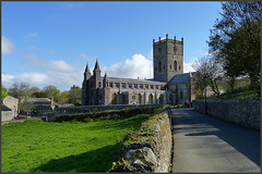 THE WALK TO THE CATHEDRAL  ( St. David's Cathedral ) (henrhyde (gill)) Tags: ancient cathedral pembrokeshire stdavids patronsaint stdavidscathedral