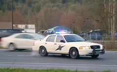 WSP Ford Crown Victoria (KurtClark) Tags: ford lights washington state accident victoria explore slowshutter wa vic crown interstate 90 i90 patrol congestion issaquah wsp lakesammamish fordcrownvictoria washingtonstatepatrol explored monohan nleaf 21march2012