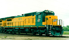 CNW 8573 (Million Views on 1-18-2015, Thank You Everyone!) Tags: railroad minnesota diesel scanned ge shakopee cnw c408