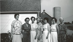 Margaret Bodensteiner with Daughters and Daughter-In-Laws