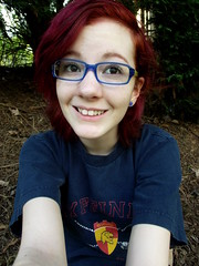 (SkyeRieth) Tags: red selfportrait me girl hair redhead freckles redhair