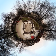Spielkugel (theHalo) Tags: show panorama mnster kugelpanorama littleplanet
