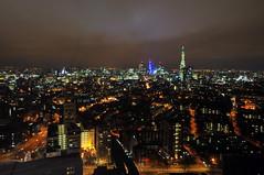Gece Londra, 39. Kat / London Night, 39. floor (Atakan Eser) Tags: england london londra ingiltere kartpostal dsc9777 londra2012 stratatower 39floor cloudexpo2012 39kat