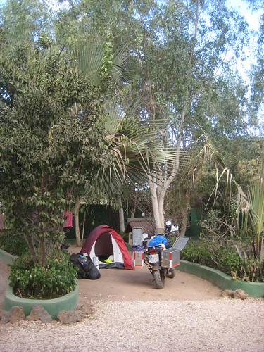 Camping in Gambia