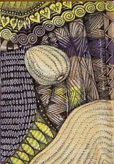 Fantastic Journey (molossus, who says Life Imitates Doodles) Tags: paperblanks zentangle