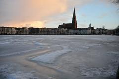 Schwerin Innenstadt im Winter I