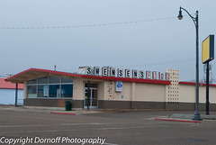 Swensen's Food Closed (Dornoff Photography) Tags: abandoned retail nikon idaho business grocerystore rupert smalltown d60 nikond60