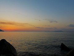 Another Day is Gone (Andrea Merenda) Tags: sunset sea italy stone italia tramonto day mare patti sicily sicilia messina aeolianislands scogli giorno isoleeolie martirreno mongiove golfodipatti canonpowershotsx40hs