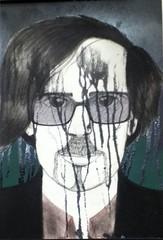 Tim Burton (Luz Lenoir) Tags: hot sexy love halloween dark painting daddy glasses tim big amazing emo goth deep creepy hero beast greatest brilliant burton xmunecamuertax