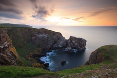 REMINDER (Steve Boote..) Tags: longexposure light sea seascape clouds evening coast cliffs northsea coastline borders manfrotto stabbs berwickshire stabbshead nd64 sigma1020f456exdchsm hoyafilters leefilters 09h 6stop canoneos7d southeastscotland steveboote